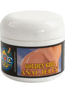 Golden Girl Desensitizing Anal Jelly Lubricant 2oz